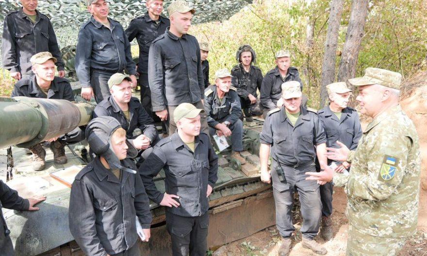 Сергій Наєв привітав танкістів