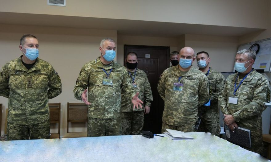 Генерал-лейтенант Сергій Наєв