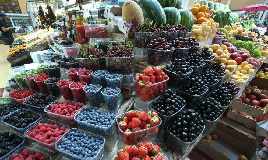 ціна на ягоди