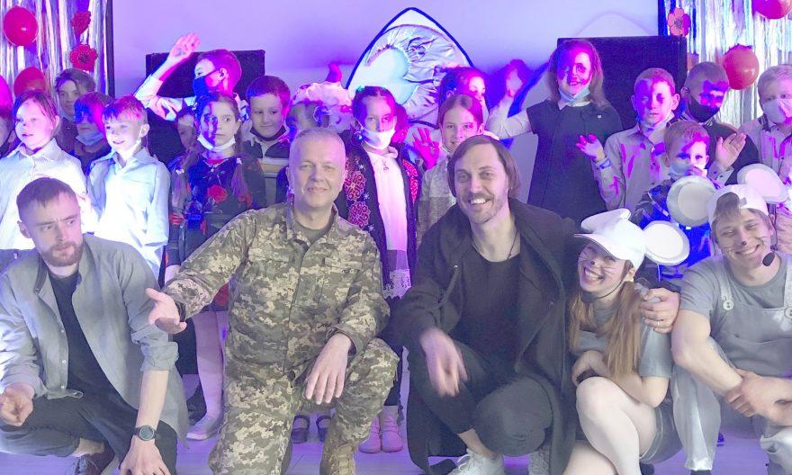 Сергій Наєв, турбота про дітей