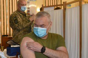 Сергій Наєв щеплення, вакцинація
