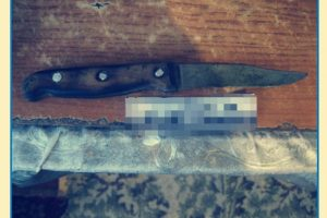 встромив ножа сину, порізав сина, на білоцерківщині батько ножем сина