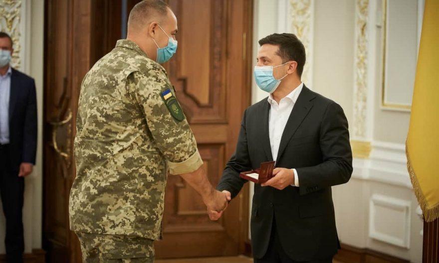 Білоцерківцю вручили медаль «Захиснику Вітчизни»