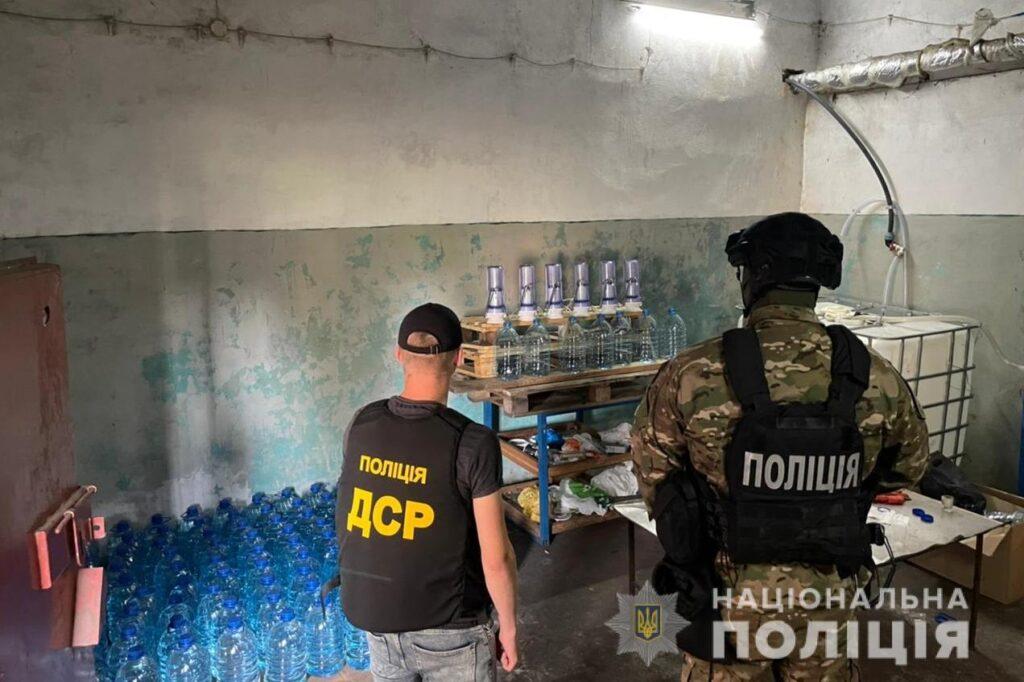 Угруповання виробників контрафактного алкоголю викрили у Білій Церкві, фото-3