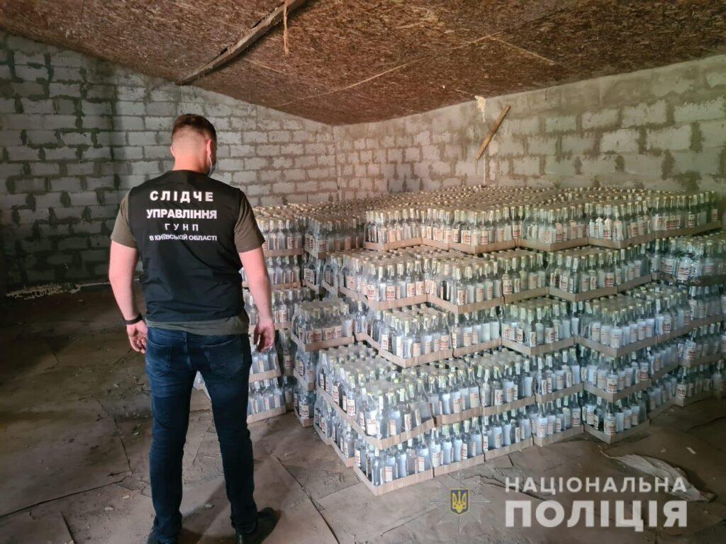 Угруповання виробників контрафактного алкоголю викрили у Білій Церкві, фото-2