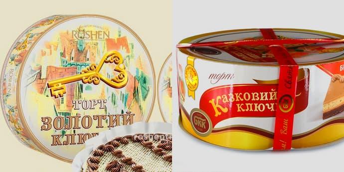 """Roshen і БКК судитимуться за торт """"Золотий ключик"""" у Верховному суді"""