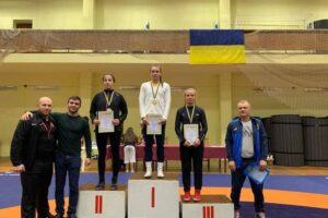 білоцерківська школа боротьби, білоцерківчанки на чемпіонаті україни, юлія лесковець чемпіонка