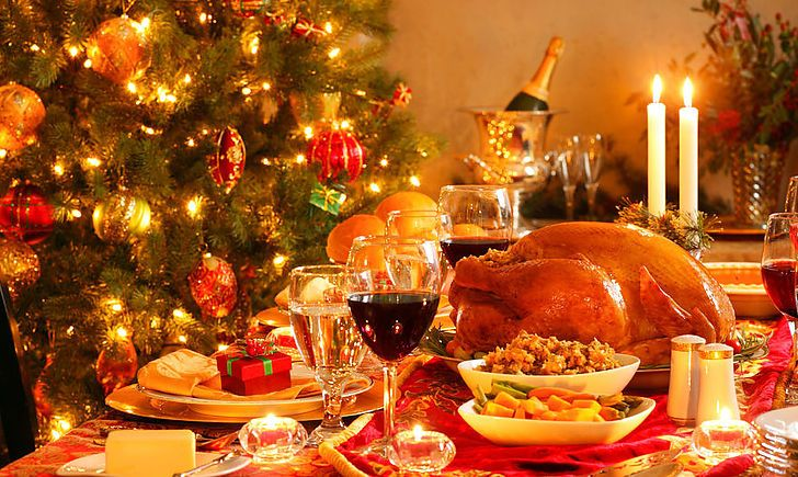 новорічний стіл, святковий стіл, скільки коштує новорічний стіл