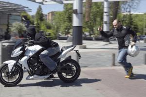 Угнали мотоцикл
