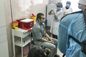 Вакцинація в Україні. Перша вакцинація