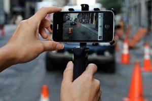 Поліцейський в смартфоні. dashcamUA