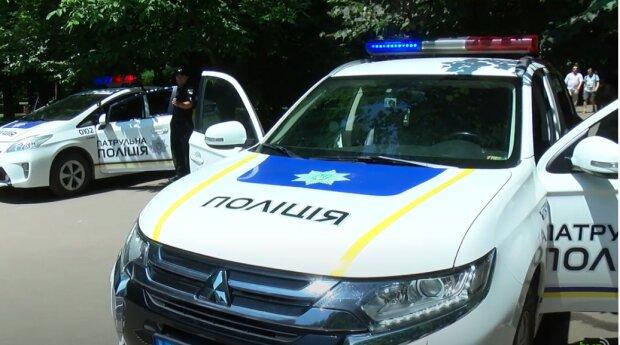хуліган попісяв на авто патрульних, у білій церкві авто патрульних, 17 тис грн штраф