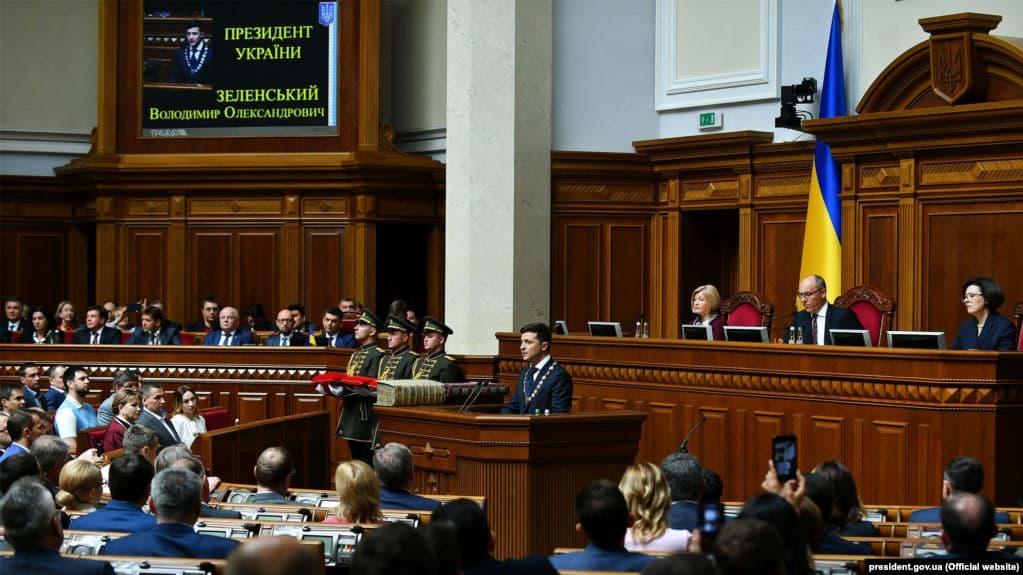 Президент Володимир Зеленський підписав указ про розпуск Верховної Ради 8-го скликання.