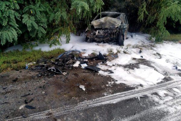дтп на білоцерківщині, дтп згорів автомобіль на білоцерківщині, згоріла машина в результаті дтп, смертельна дтп на білоцерківщині, зіткнулось два автомобілі на білоцерківщині