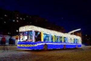 рух тролейбусів біла церква, тролейбуси біла церква, тролейбуси в новорічну ніч