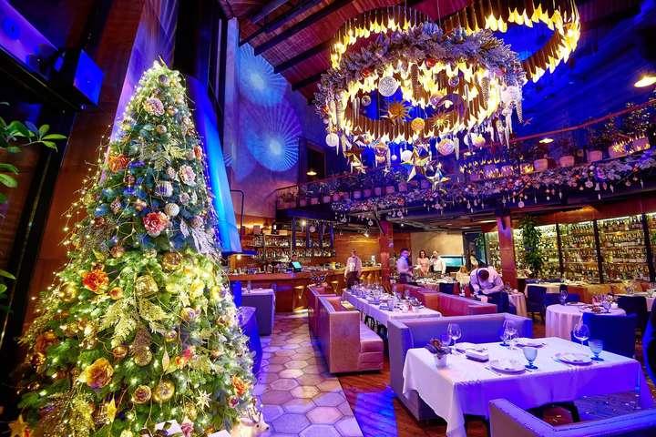 ресторани в новорічну ніч