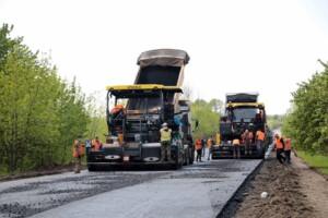 ремонт доріг, велике будівництво