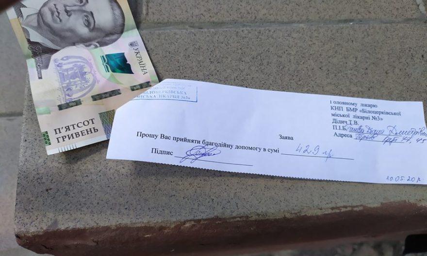 гроші за тест на коронавірус