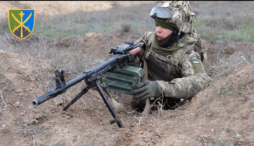Херсонський напрямок. Військові навчання