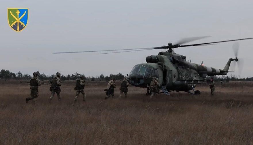 Військові навчання. Сергій Наєв