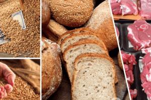 зросла ціна на зерно, зросла вартість хліба, подорожчає м'ясо