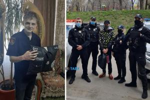 патрульні біла церква, поліція біла церква, поліцейські білої церкви, привітали з днем народження поліцейські