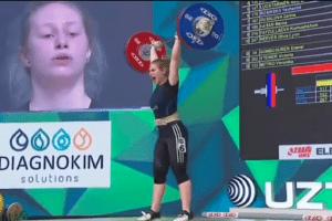 спортліцей біла цекрва, росінська євгенія, чемпіонат світу з важкої атлетики
