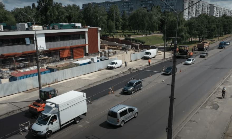 тролейбус на леваневського, тролейбуси на леваневського, ремонт дороги на леваневського,