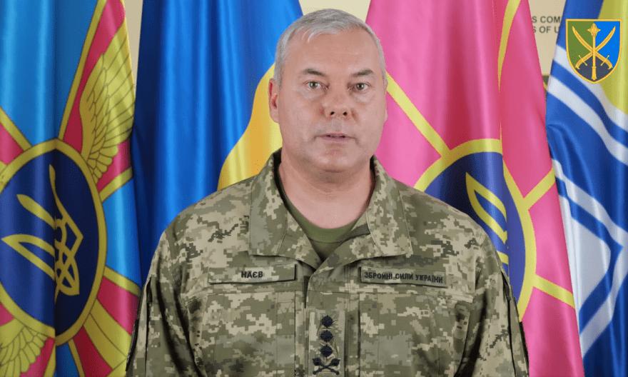 Сергій Наєв, Командувач об'єднаних сил Збройних Сил України
