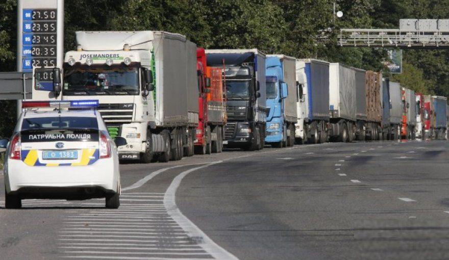 обмеження руху вантажного транспорту