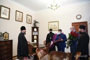 митрополит епіфаній, епіфаній зустрівся з мером білої церкви, епіфаній з диким