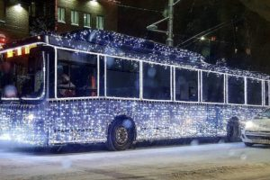 рух тролейбусів в новий рік біла церква