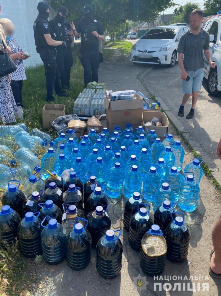 Угруповання виробників контрафактного алкоголю викрили у Білій Церкві, фото-6
