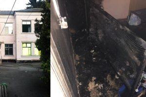 пожежа в лікарні 1 біла церква, пожежа в лікарні біла церква, горіла лікарня в білій церкві, пожежа лікарня 1, електрозамикання в лікарні біла церква