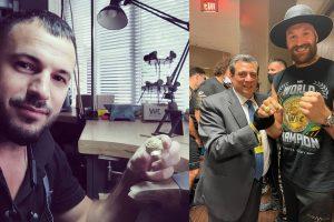 ювелір з білої церкви, тайсону ф'юрі подарували перстень, WBC подарував Ф'юрі перстень