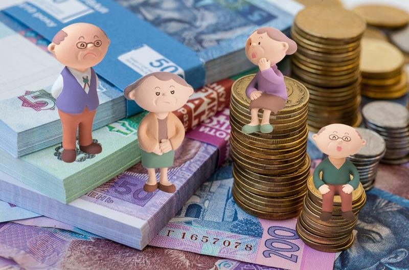 пенсії в україні, низькі пенсії, пенсія менше 2 тис грн