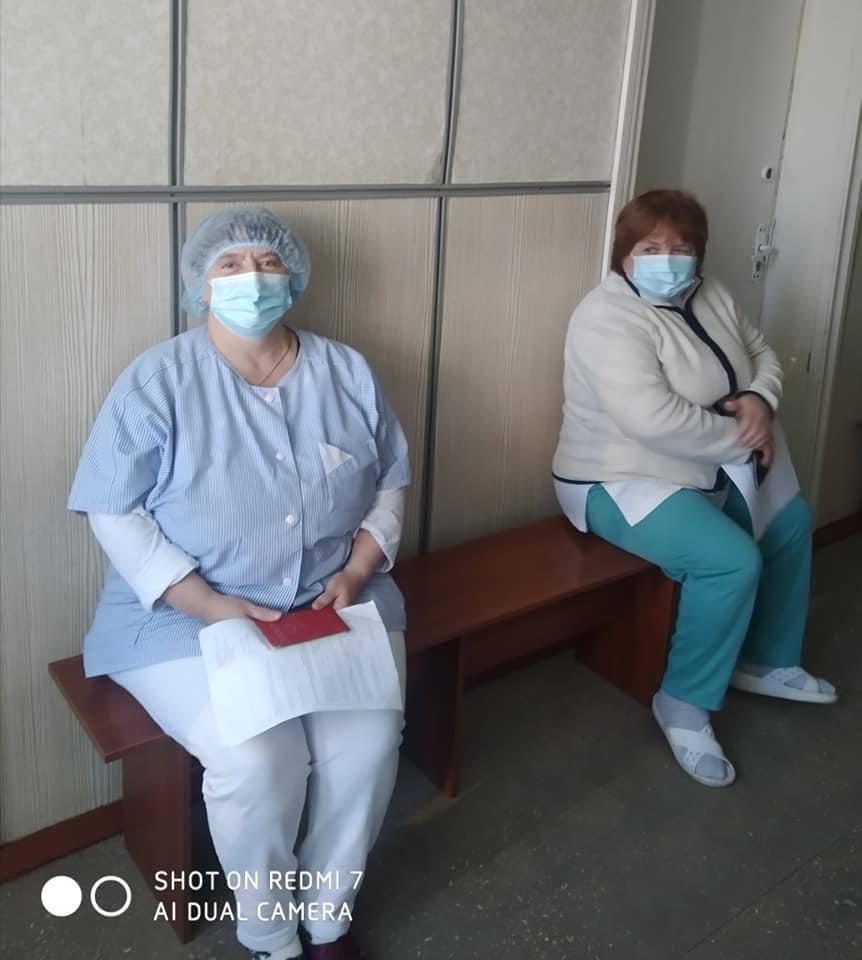 Від COVID-19 вакцинувались медики Білоцерківської лікарні №3, фото-5