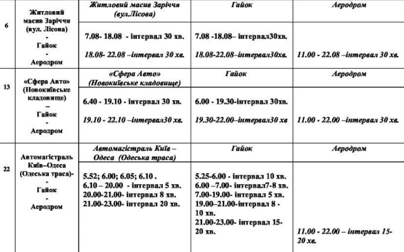 У Білій Церкві автобусні маршрути до зупинки Аеродром продовжать 24-25 липня, фото-2