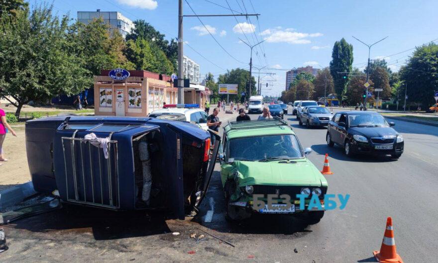 ДТП у Білій Церкві, ДТП на Леваневського, ДТП 3 річний хлопчик, у Білій Церкві перекинулось авто, постраждав 3-річний хлопчик