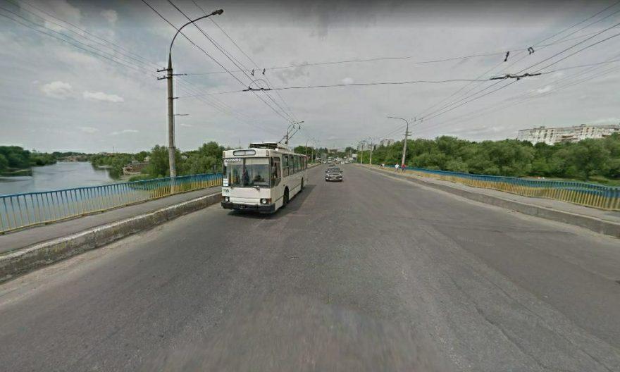 обжено рух мостом на таращанський міст, таращанський міст, міст вул заярська, припинять рух тролейбусів на таращанському мосту, біла церква припинять рух тролейбусів