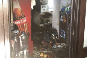 Пожежа в магазині