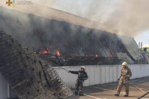 Пожежа Узин Хуторок